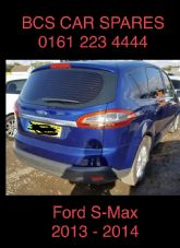FORD S - MAX  REAR LIGHT. OUTER LED.   DRIVERS SIDE   2013. 2014. Used